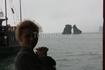 """Символ Вьетнама в Заливе Халонг. Они называют это """"петушок и курочка"""". Даже поместили на банкноту."""