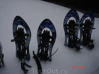 снегоступы побольше - для мужчин