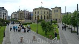 Осло - парламент.