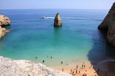 Один из самых красивых пляжей.
