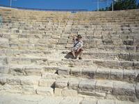 Античный амфитеатр, город-государство Курион.