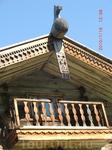 Конек крыши и верхний балкончик 19-20 в.