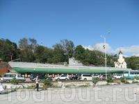 """Мемориал Краснознаменная гвардейская подводная лодка """"С-56"""""""