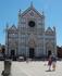 Флоренция. Базилика Санта-Кроче. Наша единственная фотка вместе)