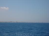 город-призрак с моря