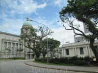 остатки колониального стиля в Сингапуре