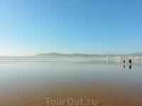 Великолепный пляж Агадира, один из лучших в мире.