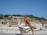 Развалины Карфагена, здесь были римские бани.