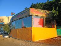 Рыбный ресторан в Акабе