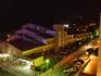 Калелья. Отель Кактус Плайа. Вид из номера на ночную Калелью