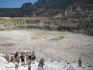 в кратере вулкана Нисирос