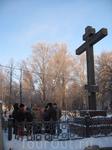 Поклонный крест в центре Вологды.