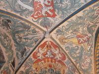 мозаичный потолок ратуши