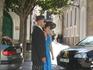 Местная свадьба.После венчания. Видимо, это свидетели.