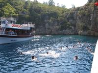 купание в море