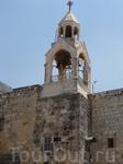 Колокольня армянского монастыря, примыкающего с юго-запада к Храму Рождества Христова.