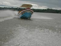 Вот так мы путешествовали по реке Рио Дульче
