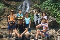 На водопадах Мезмая
