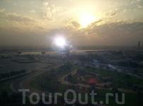 рассвет в Дубае