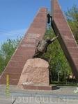 Памятник погибшим в Афганистане.
