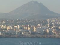 Вид на город с моря - 2 .