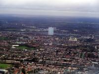 Так выглядит Лондон при подлете.