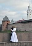 Свадьба у Кремля.