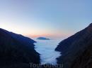 Долина реки Гиналдон в с высоты 3000