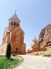 Здание церкви Святой Богородицы (Сурб Аствацацин) в монастрском комплексе Нораванк.