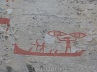 Рисунков очень много. Возраст их порядка 5000 лет.