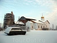 Николо-Косинский монастырь зимой