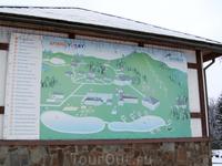 Карта - схема ГСОК Логойск