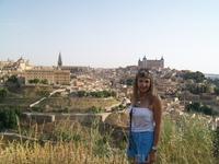 Вид на Толедо-древнюю столицу  Испании