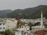 Вид на город со стен крепости