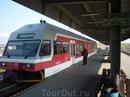 Поезд Татранских электрических железных дорог на специальном пути на станции Попрад