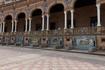 Аркала площади Испании(произведение архитектора Анибала Гонсалеса и Альварес-Оссорио), на которой изображены все провинции Испании.