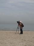 Киносъёмка на восточном побережье Средиземного моря. Тель-Авив.