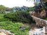 Лестница, ведущая на пляж в небольшой бухте