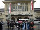 Железнодорожный вокзал Лозанны построен в 1908-1916 г.г.