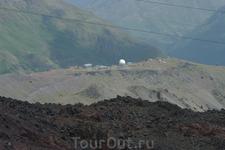 Просто горы. Вид с Эльбруса.