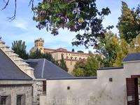 А это моя следующая цель - монастырь Del Parral.