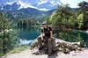 Гармиш-Партенкирхен и озеро Айбзее летом