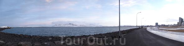 Панорама набережной