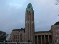 ЖД вокзал в Хельсинки