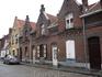 Улица старого  города., с нее  началась наша экскурсия  по  Брюгге,  одному из городов   бельгийского  королевства