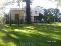 Парк Александрия; экскурсия на паровозике.Дворец Коттедж