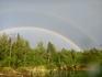 Две радуги после дождя