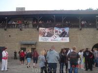 с балкона Замка было так удобно смотреть концерт!