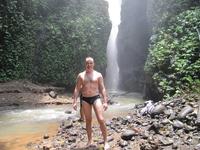 дно водопада