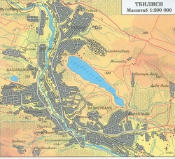 карта тбилиси на русском языке с улицами скачать - фото 10